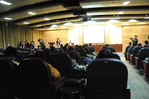 日本龟甲万在上海大学举办世博食品卫生讲座