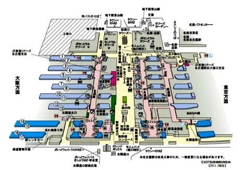 游戏地图?不!是日本地铁站