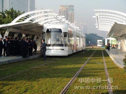 广州有轨电车开通运营