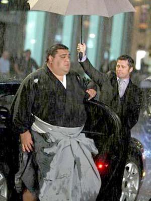 级别最高的相扑 相扑级别服饰 日本恶心相扑的图片图片