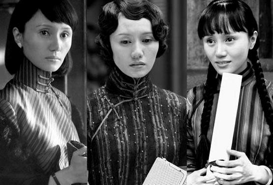 电烫给上海小姐的发型带来了革命性的变化.图片