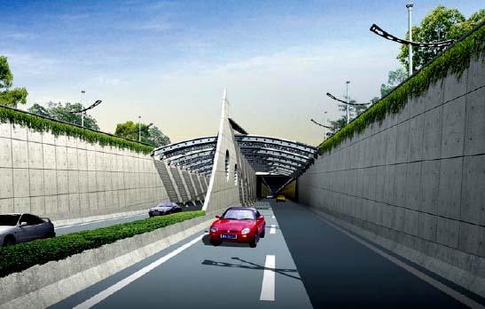 上中路越江隧道南线实现试通车,上海的城市高速路从此延伸入