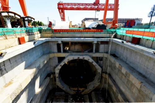 瘦西湖隧道湖西明挖段及接线道路施工主战场在